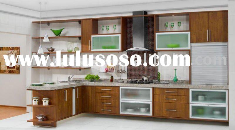 Modern Wood L-shaped Lacquer Kitchen Cabinet for sale - Price ...