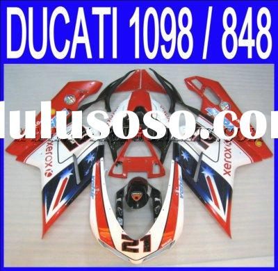 Motorcycle ABS Fairings Kit / Parts / accessory For Ducati