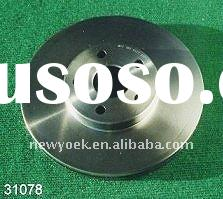 TOYOTA car spare parts,brake rotor
