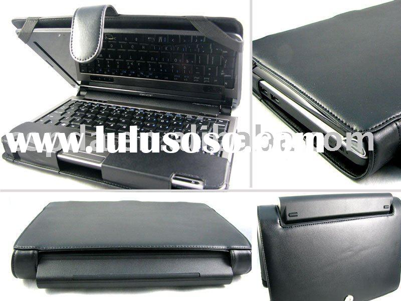 UMPC Laptop /Notebook leather case for Acer Aspire one D150 10.1'' (9 cell battery)