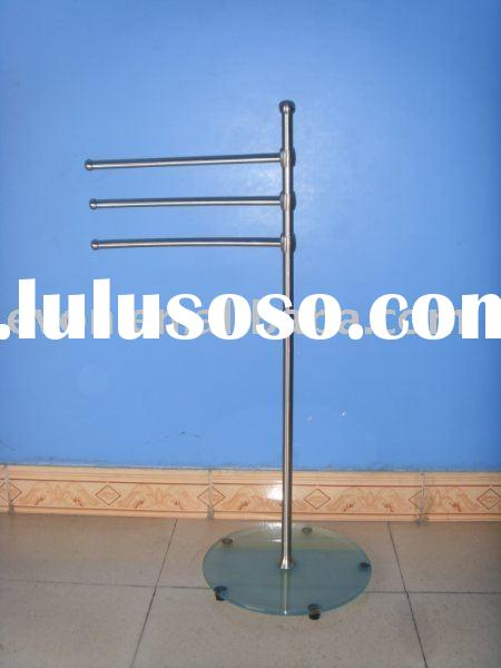 Vertical bathroom towel rack Stainless Steel ST834692