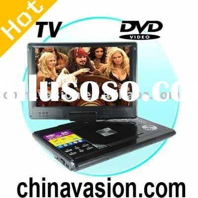 12 Inch Wide Screen Portable DVD Player