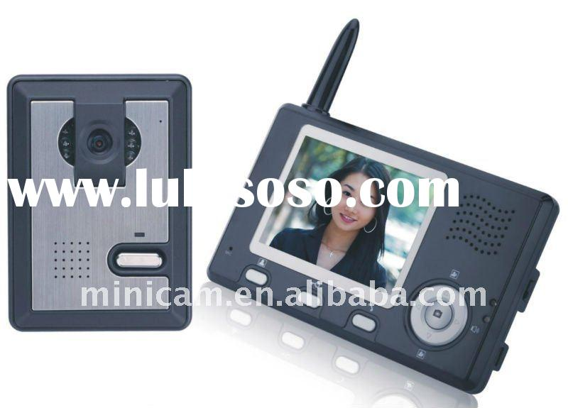 3.5 Inch 2.4G Digital Wireless Video Door Phone Monitor and Wireless Night Vision Camera Kit