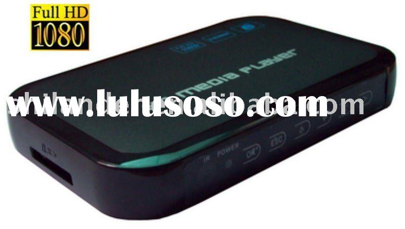 Auto Play Full HD 1080P Media Player with SD card supported