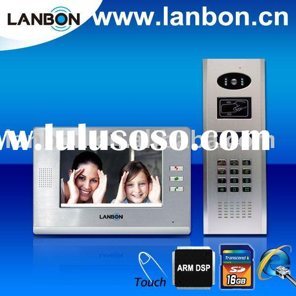 Intelligent IP Video door phone for home automation/Video intercom for Villa/House/Building intercom