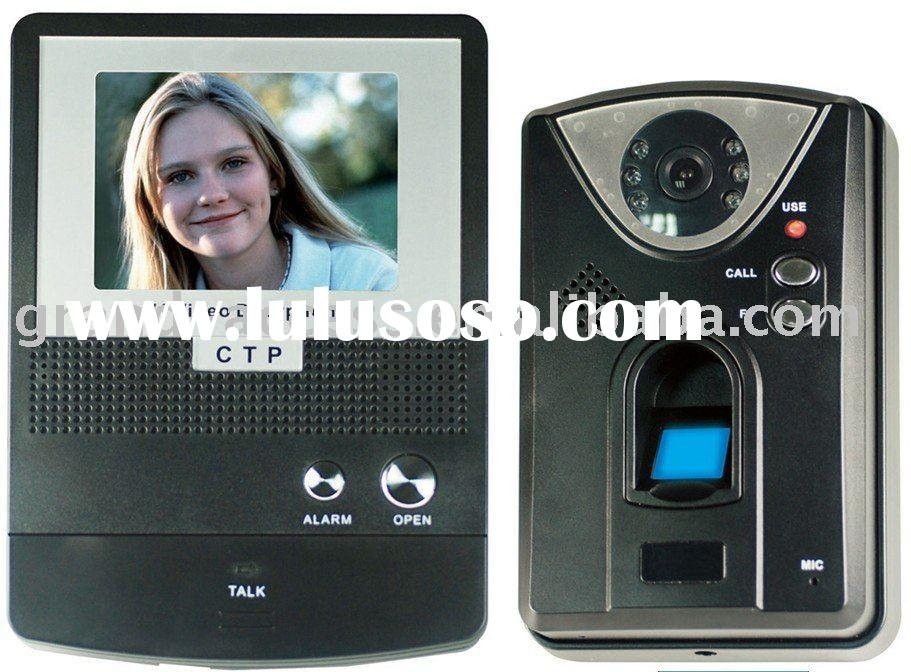 Newest for Fingerprint Color Video Door Phone Access Control System