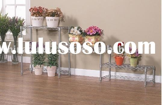 flower metal rack,metal stand plant,tree display stand,nsf wire shelving