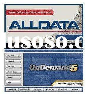 professional alldata mitchell on demand 2011 in 500GB HDD