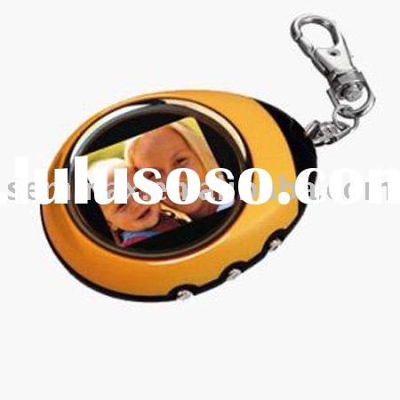1.5 inch Digital Photo Frame Keychain with CE,FCC,RoHs
