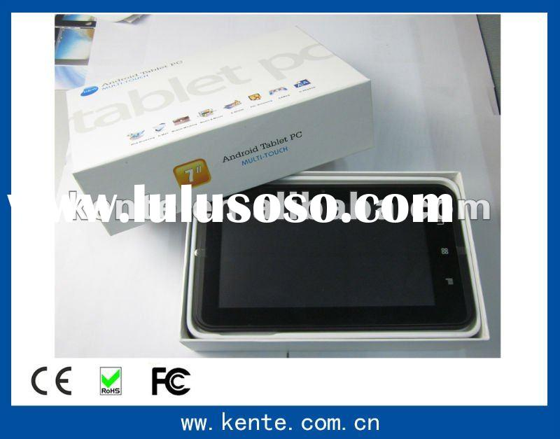 7 inch TFT LCD Display Capacitive touch panel ( Multi-touch ) tablet pc android 2.3