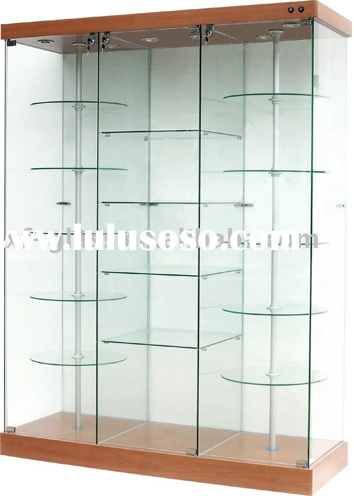Glass show case;display;window display;cabinet-Sr63