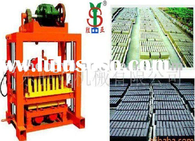 QTJ4-40 Concrete brick making machinery