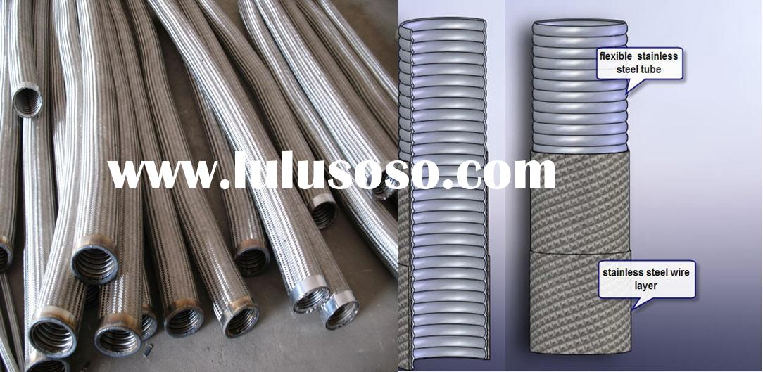 stainless steel corrugated flexible metallic hose