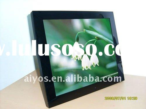 19 inch inch digital photo frame with battery built in and 4-light-tube high quality screen