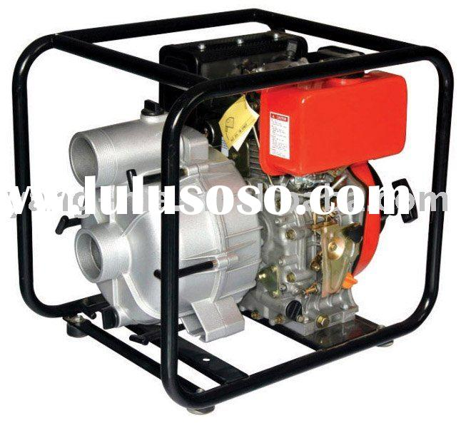2 inch gasoline engine electric high pressure water pump