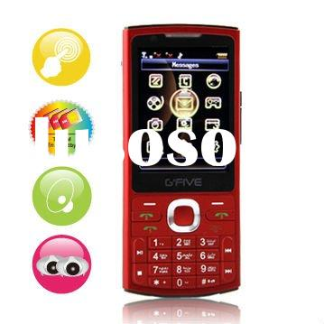 G`FIVE GT300 tri sim tri standby fashion touch screen mobile phone with FM radio MSN yahoo Facebook