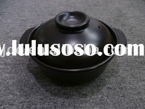 High heat-resistant Ceramic Soup Pot with lid