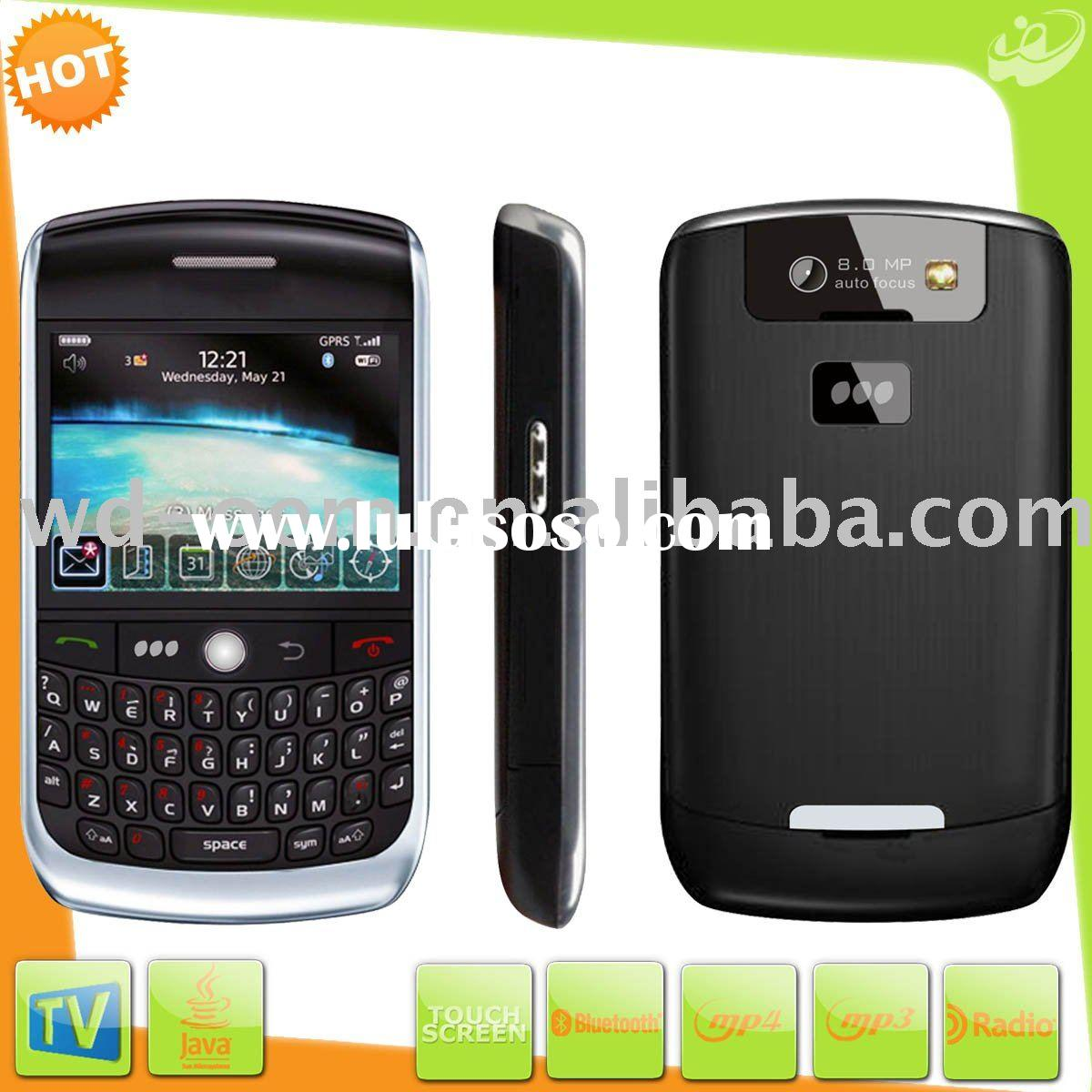 Hot dual sim dual standby mobile phone blueberry 8900