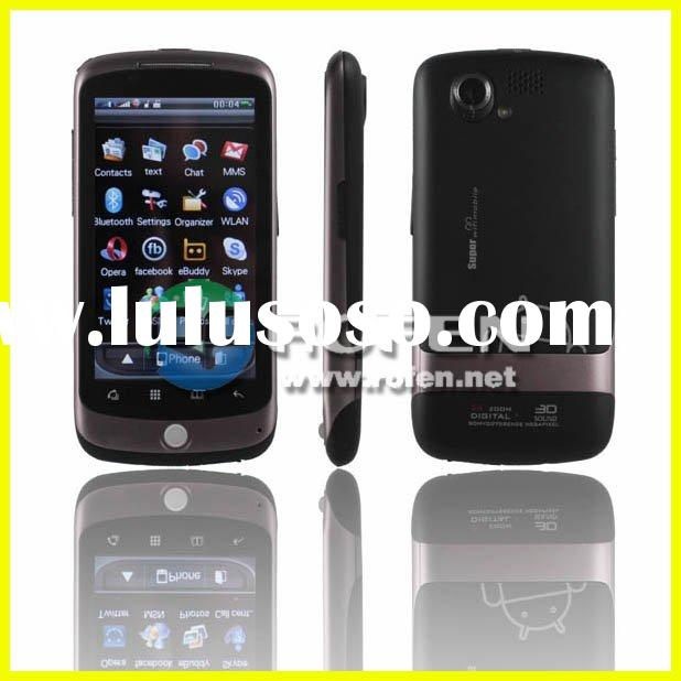 "STAR G5 3.8"" Google Nexus one Touch Screen Dual SIM Dual Network Standby Quadband GSM TV Cell P"