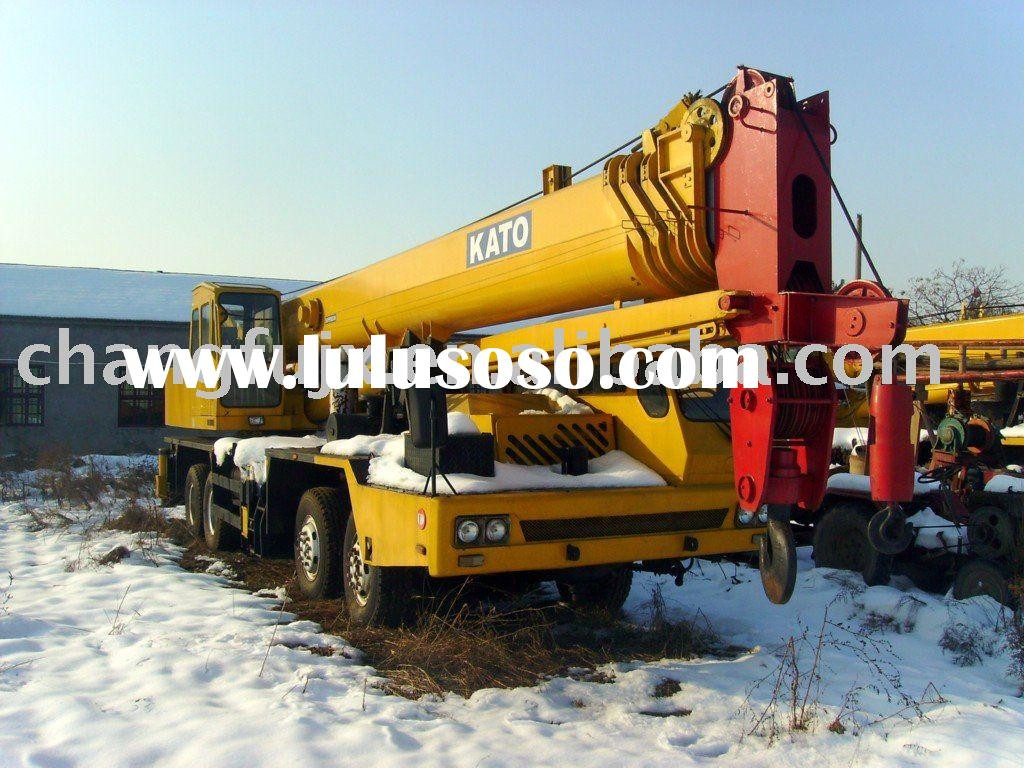 Secondhand 50Ton KATO truck mobile crane , Used Crane