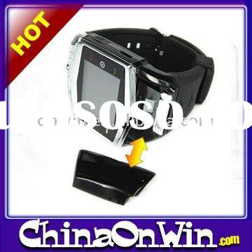Ultra-thin Quadband 1.55-Inch Touch Screen Wrist Watch Mobile Phone