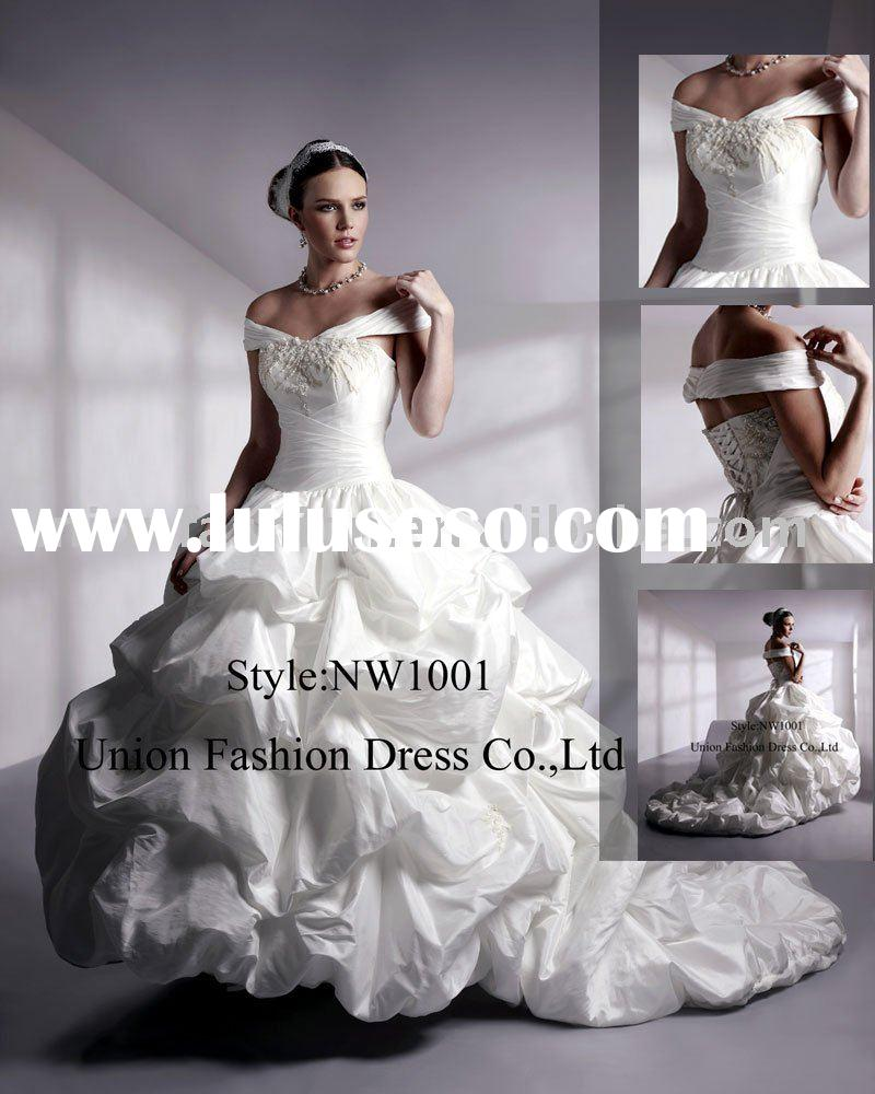ball gown wedding dresses 2011 unique NW1001-b