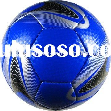 high quality hand-stitch PU match soccer ball