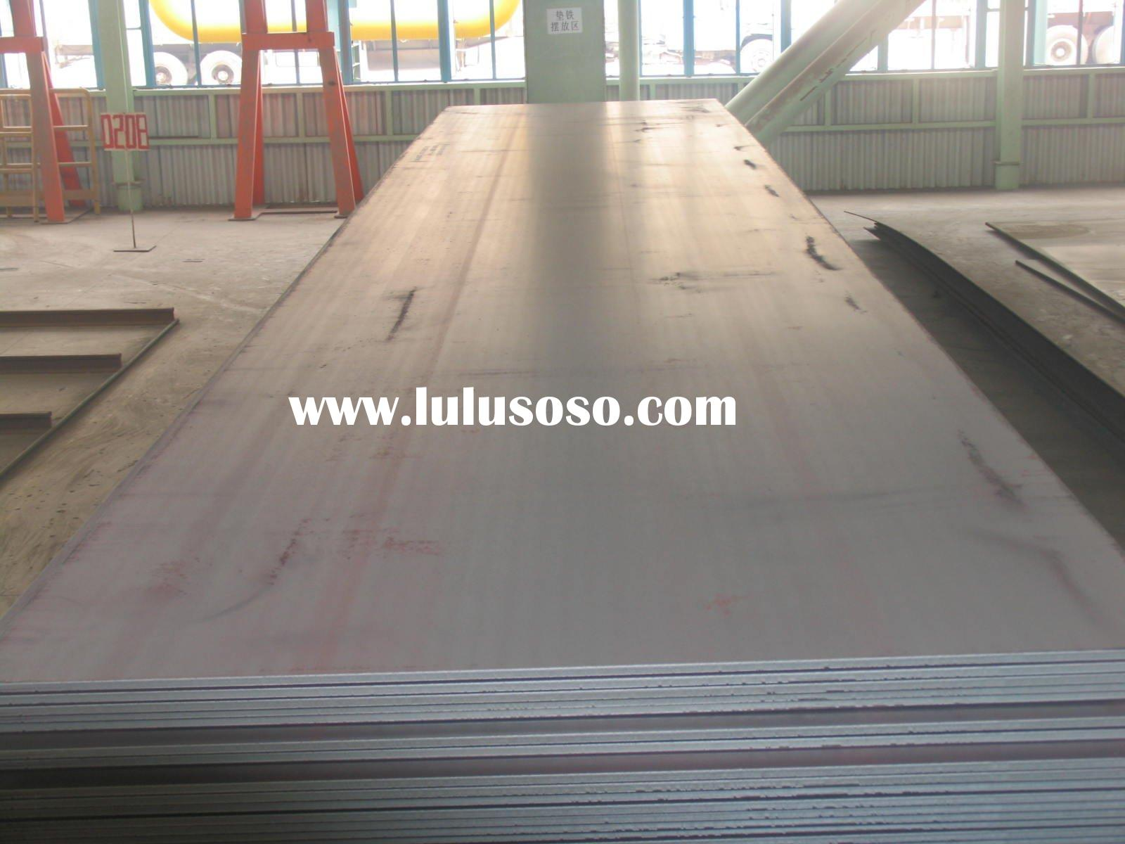 hot-rolled steel sheet ASTM A 36