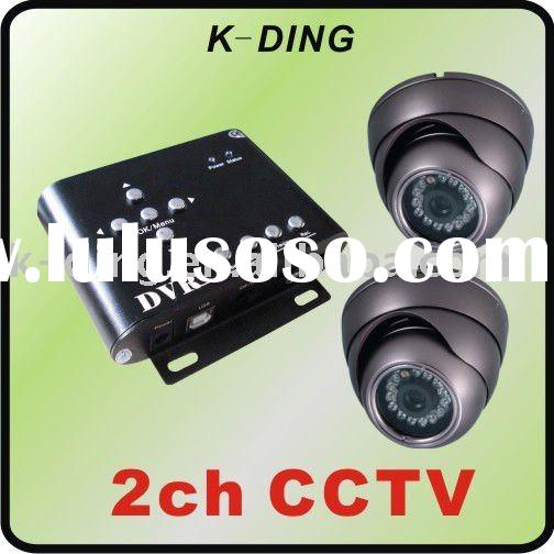 taxi dvr and camera solution/Taxi surveillance system/2 channel car security system/taxi monitoring