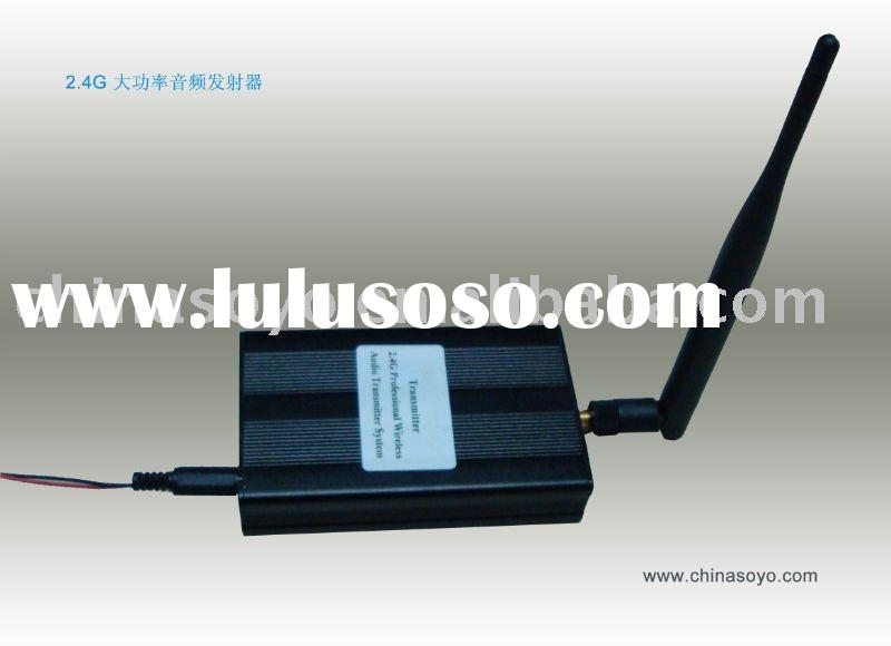 2.4G Audio Wireless Transceiver (Audio Transmitter and Receiver)