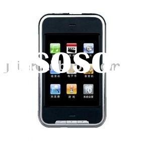 4GB Digital MP4 / MP3 Player / TouchScreen / Audio/ Video/ FM Tuner / M168(GR-MP3-0004)
