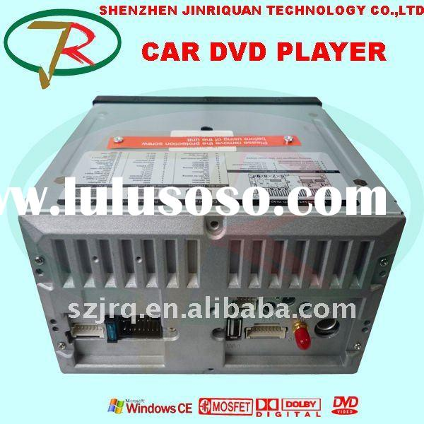All in one hot sale 2 DIN universal car DVD player for NISSAN WITH GPS BLUETOOTH RDS IPOD ISDB-T DVB
