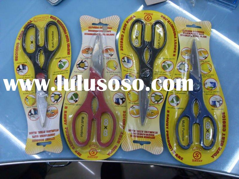 Multifunction stainless steel scissors kitchen scissors