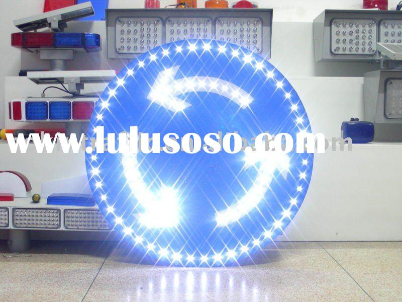 NOKIN Popular and Custom Made LED Solar Reflective Traffic Sign