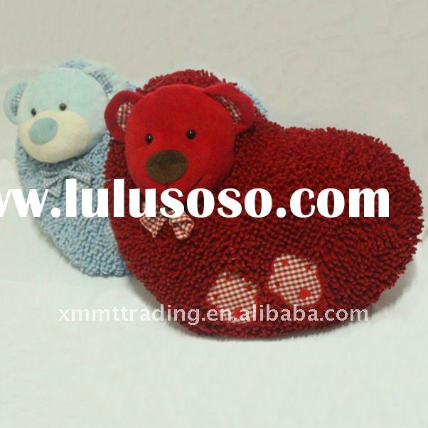 New valentine plush toys heart for 2012