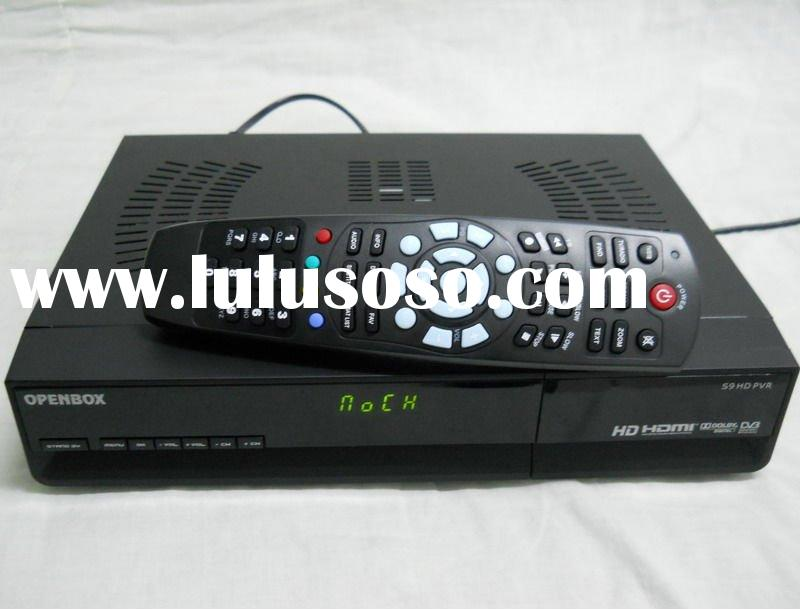 digital set top box s9 HD PVR,high definition satellite receiver,dvb-s,linux operating system Openbo