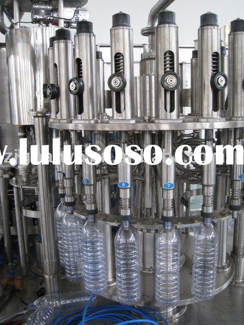 pet or glass bottle soft drink aerated drink filling machine/bottling line