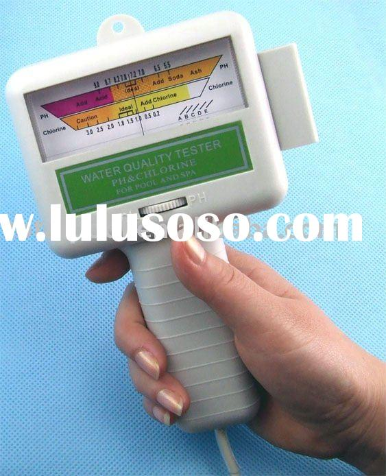 swimming pool spa water PH/chlorine tester