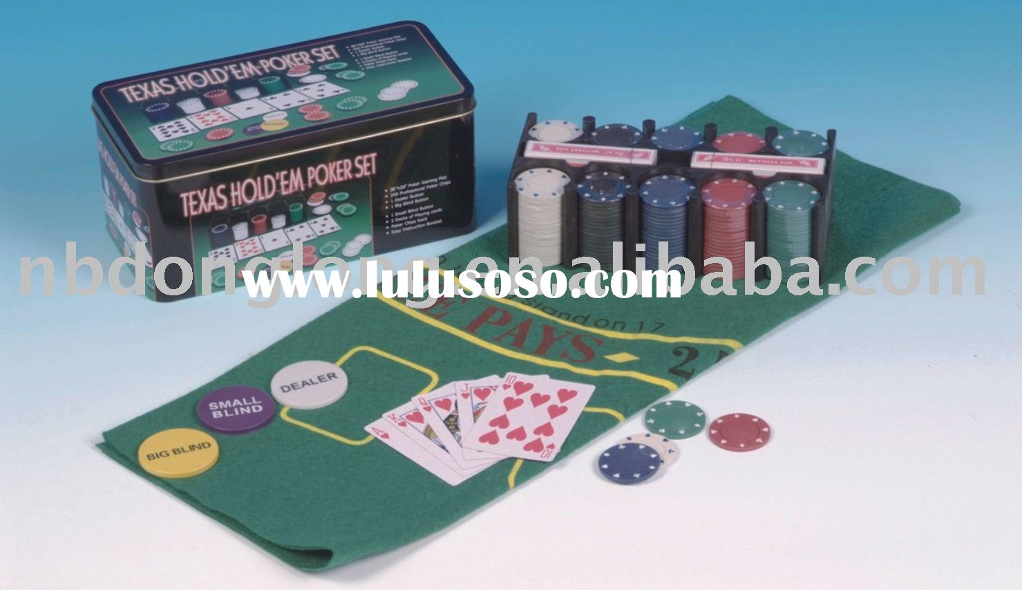 texas hold em poker chips set