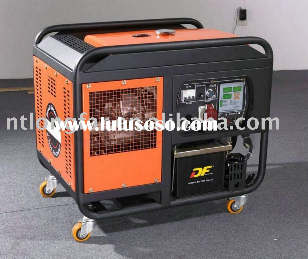 10kw light diesel generator set