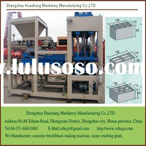 Cement Brick Making Machine, very popular in africa