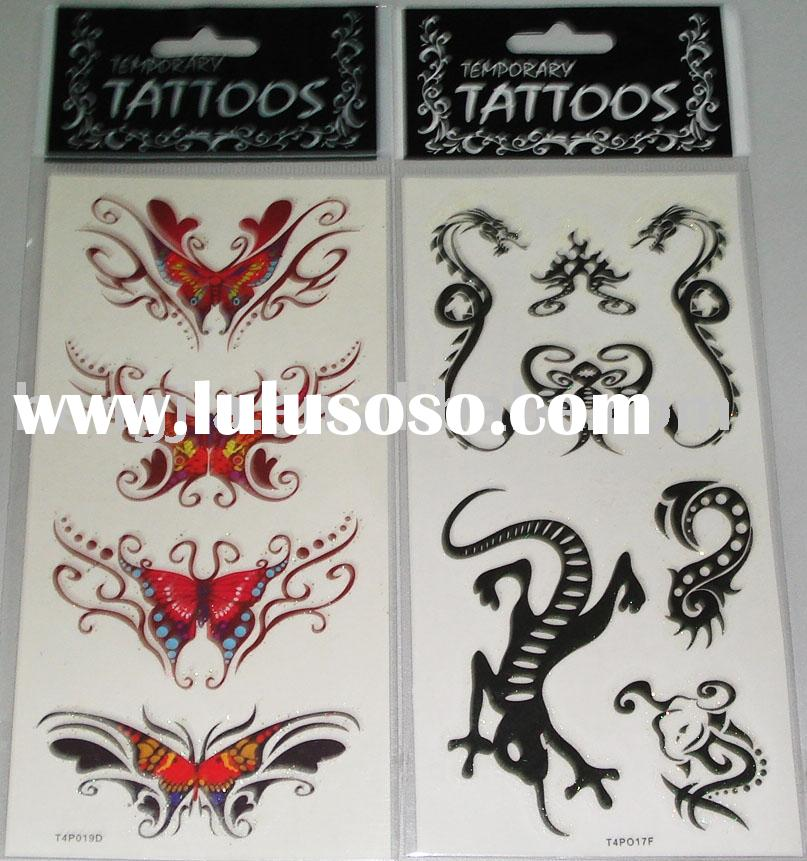 Glitter Tattoo Stickers