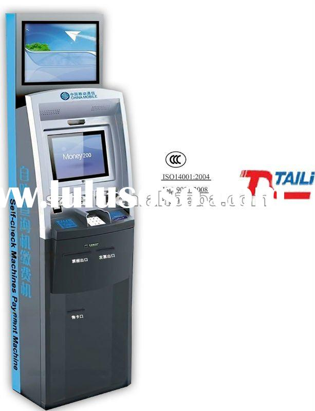 Payment touch screen Self-service atm kiosk TLST-1010