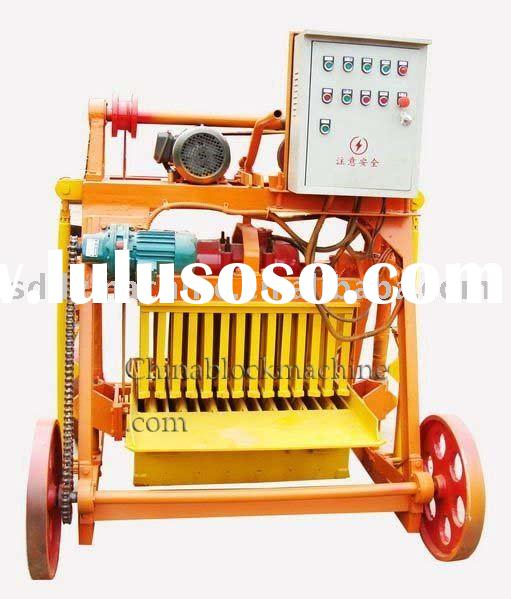 QT40-3B Cheap Small manual block machine/brick making machine/hollow block machine