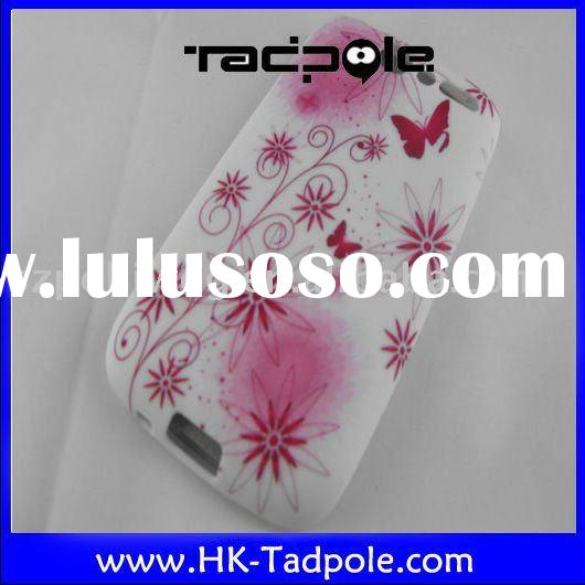 brand new mobile phone accessory for HTC desire G7 silicon flower/protector case