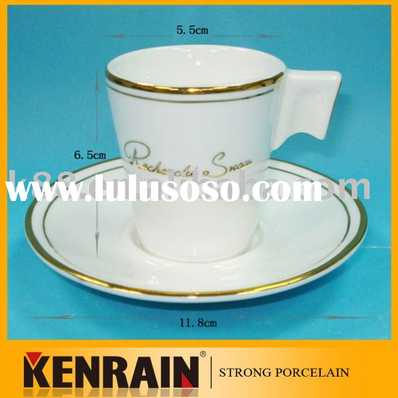 coffee cup and saucer/espresso cup/cappuccino cup