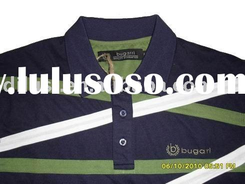 man's t-shirt designer brand POLO with long sleeve 100% cotton, T0046