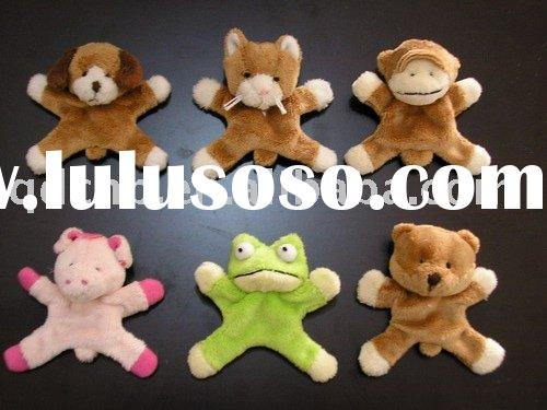 Plush Magnet Animals Magnetic Plush Toy Mini Plush Magnet Animal Toys