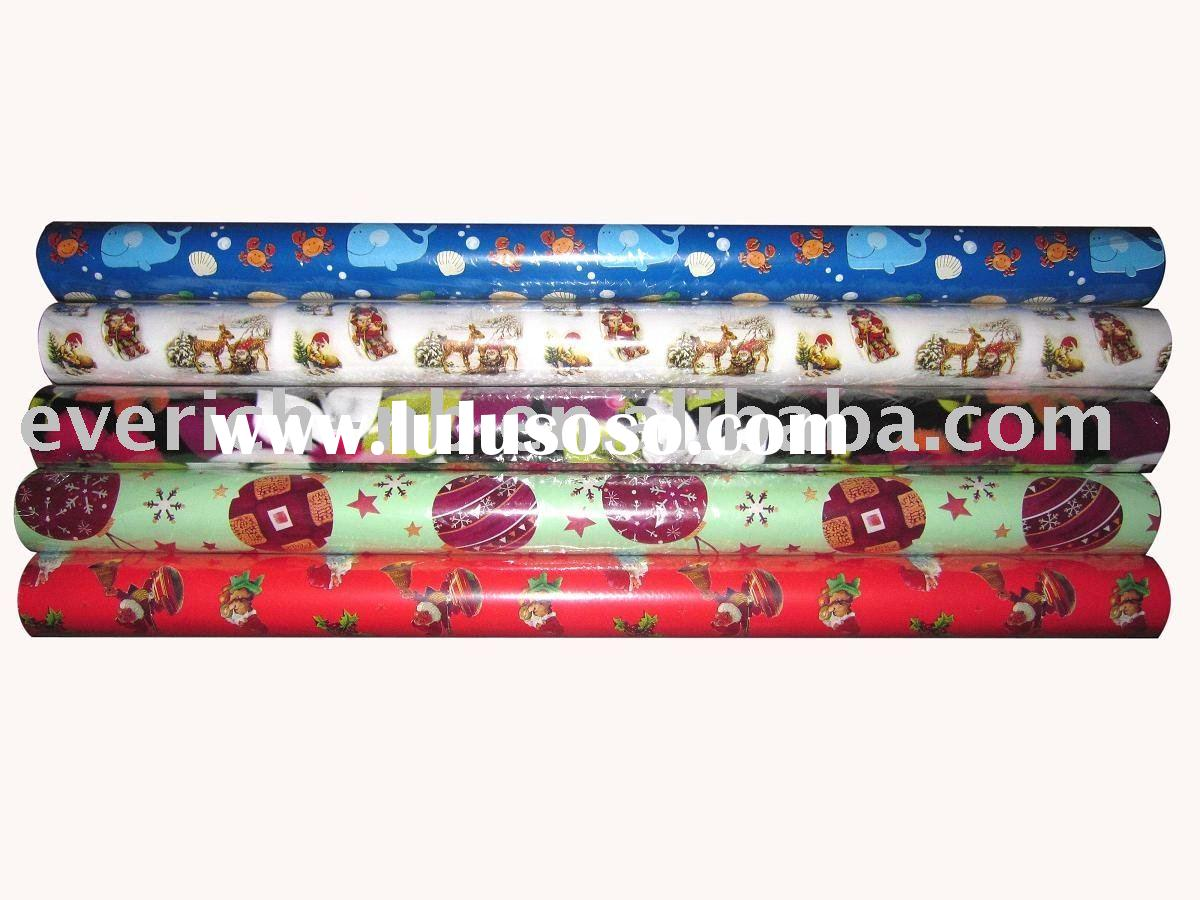 roll wrapping paper, gift wrapping paper, printing paper, gift packaging,packing paper,machine wrapp