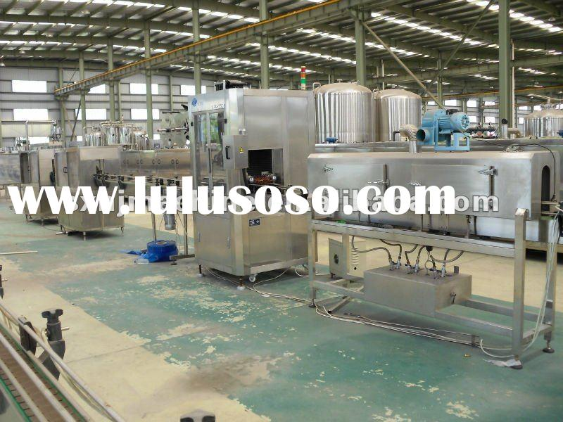 Automatic PET bottle water filling line